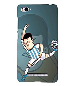 99Sublimation Argentina Jercy Football 3D Hard Polycarbonate Back Case Cover for Xiaomi Mi 4i :: Xiaomi Redmi Mi 4i