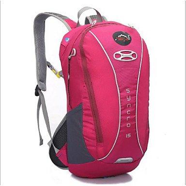 20 L Fahrrad Kofferraum Tasche/Fahrradtasche Camping & Wandern Radsport Draußen tragbar Grün Rosa Blau Orange Nylon Others Green