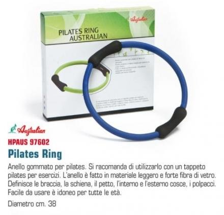 HIGH POWER Ring Pilates Ring Lux Box Blau/Schwarz (Lux Ringe)