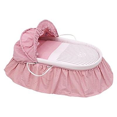 Cambrass Denim - Capazo con capucha, color rosa