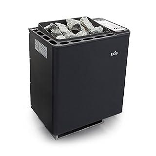 EOS Basic Sauna Heater/Wall Bi-O Thermat Anthracite/Perleffekt 6.0kW 94.5484