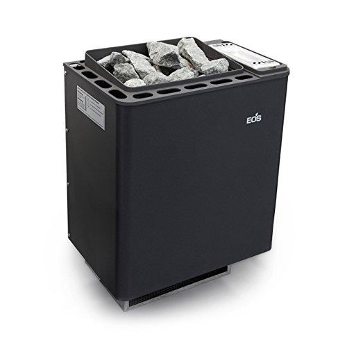 Eos Basic Saunaofen / Wandofen Bi-O Thermat anthrazit-perleffekt 9,0 kW 94.5486