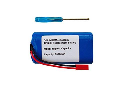 BMTick Haute capacité Arizer Solo Batterie de Remplacement