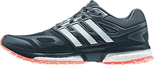 Adidas Response Boost Techfit Women's Laufschuhe Grau