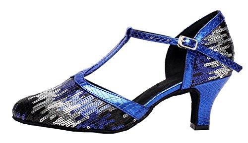CFP , Danse ; moderne femme Bleu - Bleu