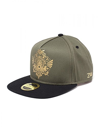 The Legend of Zelda - Hyrule Kingdom - Cap | Nintendo | Herren Damen Unisex | Grün