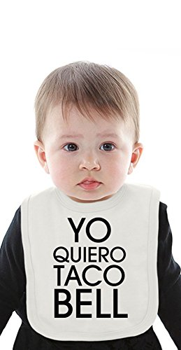 yo-quiero-taco-bell-funny-slogan-organic-bib-with-ties-medium