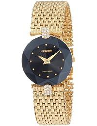 Jowissa J5.008.M - Reloj analógico de cuarzo para mujer con correa de acero inoxidable, color dorado