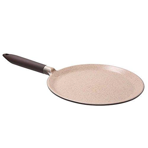 Tognana porcellane ubiqua padella crepes, alluminio pressofuso, marrone, 28 cm