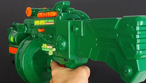 Brigamo 470 – Elektrisches Gewehr Schnellfeuer Softdart Blaster Super Speed Hellfire inkl. Munition - 4