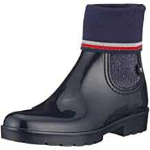 321b53a927a97 Tommy Hilfiger Knitted Sock Rain Boot