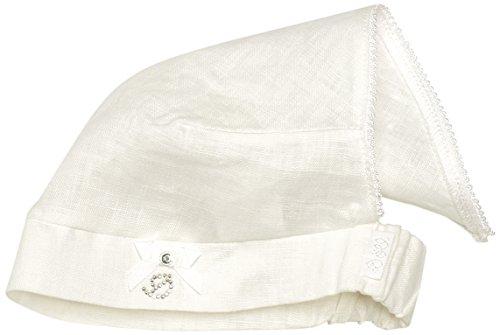 Döll Mädchen, Mütze, Kopftuch Leinen, Weiß (bright White 1000), 43