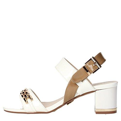 Laura Biagiotti 962 Sandalo Donna Vernice Bianco Bianco 40