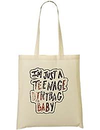 I'M A Teenage Dirtbag Baby Bolso De Mano Bolsa De La Compra