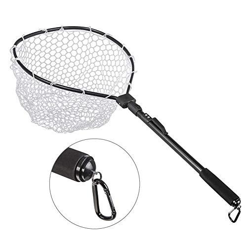 Kescher Angeln Aluminium Angelkescher Versenkbares Klappgriffnetz for Fischfangnetze Fliegender Fisch Fangnetz Und Auslösungsnetz