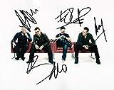 THEPRINTSHOP Photo dédicacée en édition limitée U2 + autographe imprimé CERT.