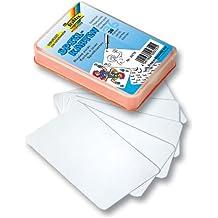 Folia 2312 Spielkarten, 6,5x10cm, starke Qualität, weiß (36er Pack)