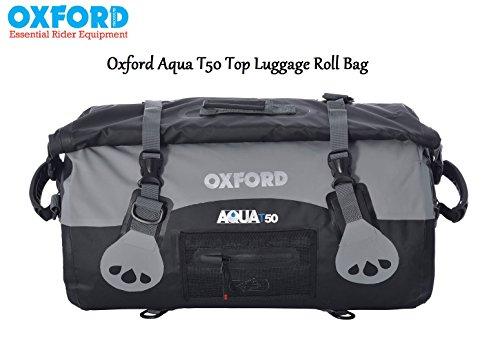 Oxford Marke neue Aqua Wasserdicht 50Liter Dry Gepäck mit Roll Top Alle Wetter für Motorrad Verwenden (Gepäck 50)
