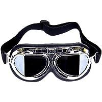 Beito Steampunk - Gafas de Moto con Lentes de Humo