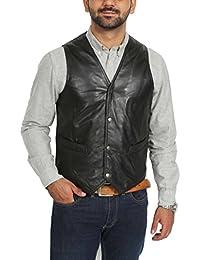 Amazon.it  House Of Leather - Giacche e cappotti   Uomo  Abbigliamento 598f5188bef