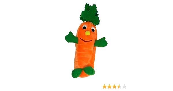 PetLove Dog Toy Salad Softees Colin Carrot