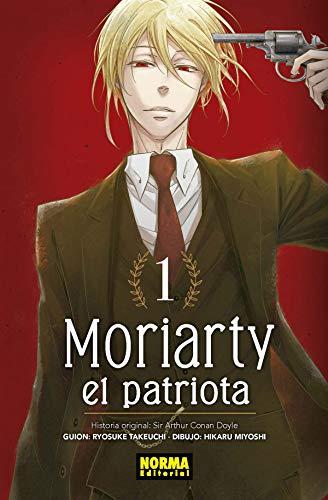 Moriarty el Patriota 1 por Hikaru Miyoshi Ryosuke Takeuchi