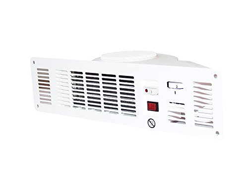 Winterwarm 2 kW Kick Board Base Unit Heater, White