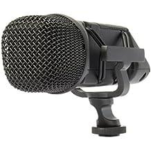 Rode Stereo VideoMic Microfono Direzionale Stereo a Condensatore, Utilizzo con Videocamere, Nero/Antracite