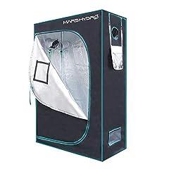 60x60x160cm GrowPRO 3.0 Growbox