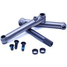 Stabile singlespeed Kurbelgarnitur (Schwarz) von beddo für sichere Landungen bei Dirt Jumps und Sprüngen mit dem Dirt Bike, MTB oder BMX