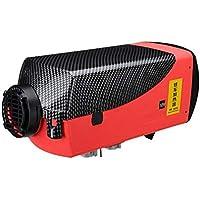 Beautygoods Calentador de Combustible del automóvil, Calentador de Coche Diesel de Aire de 5000W 12V con Pantalla LCD de Control Remoto para RV, Remolque de RV, camión, Barco
