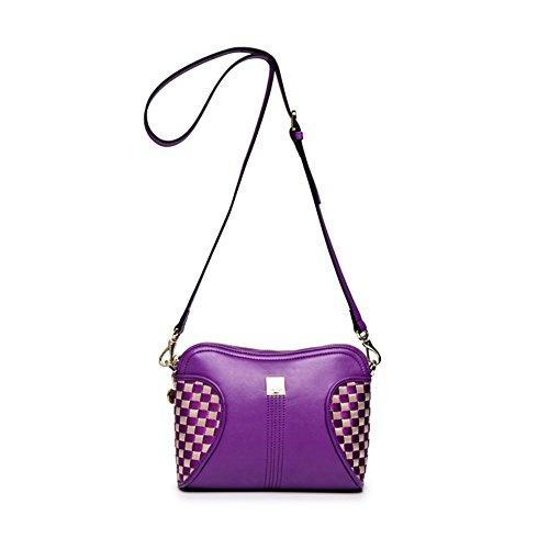 Knitting colpo sacchetto di colore signora/versione coreana del afflusso di donne di spalla casuale pacchetto diagonale-B B