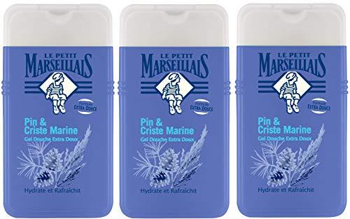 Le Petit Marseillais duschgel extra mild pin und criste meeres 250ml 3er-Pack -