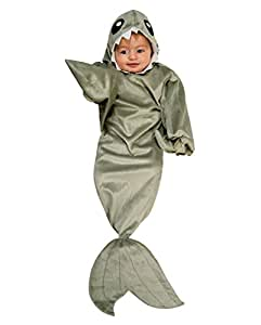 Horror-Shop Petit Costume bébé requin