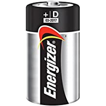 Energizer E300152200 - Pila alcalina LR20, D, blíster 2 unidades