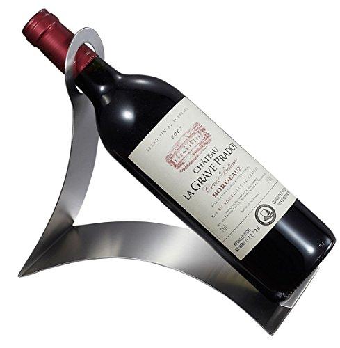 Visol Produkte Volnay (Côte Edelstahl Weinflaschenhalter, Chrom