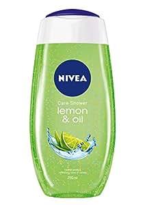 Nivea Bath Care Lemon and Oil Shower Gel, 250ml