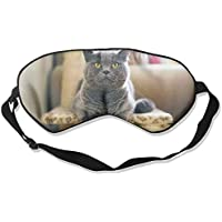 Gray Cat Front View Sleep Eyes Masks - Comfortable Sleeping Mask Eye Cover For Travelling Night Noon Nap Mediation... preisvergleich bei billige-tabletten.eu