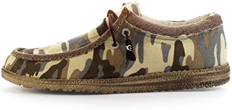 Dude Shoes Men's Wally Camo Beige UK11 / EU45