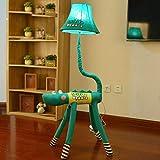 Unbekannt FEI Stehleuchte Cartoon Nette Kreative Vertikale Tischlampe Stehleuchte Kinder 'S Zimmer Prinzessin Schlafzimmer Nachttischlampe Stehlampe Lampe