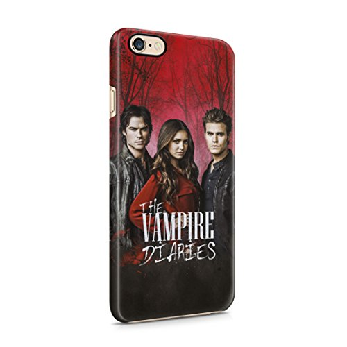 The Vampire Diaries Stefan, Damon & Elena In Forest iPhone 6 / 6S Hard Plastic Phone Case Cover
