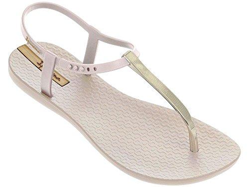 Ipanema Women'S Premium Exclusive Plastic Toe Post Sandal Silver-Silver-5 Size 5