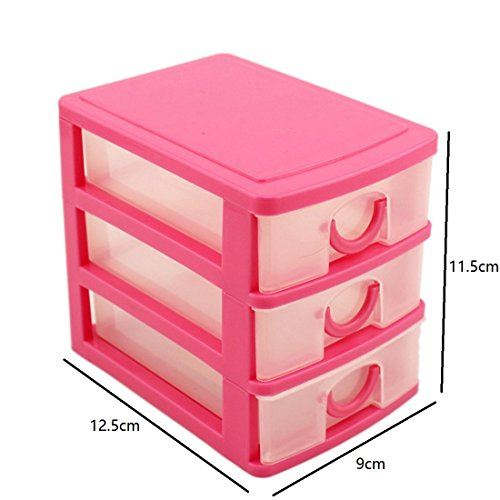 Finer Shop Three Drawer Pink Can...