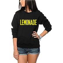 Lemonade Sweatshirt - Emoji Album Pullover - Jugend & Frauen Sweatshirt - Lemonade Album Beyonce Lemonade Beyonce Sweatshirt Beyonce Pullover Beyonce tshirt - Alter 9/11 Schwarz