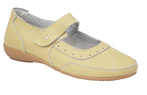 Shoe Tree Comfort , Mary Jane femme Citron Vert