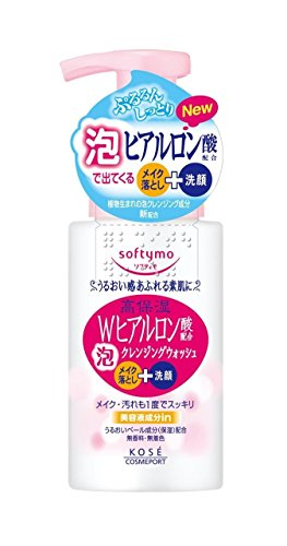 Kose Cosmeport Softymo Hyaluronic Foam Cleansing Wash - 200ml