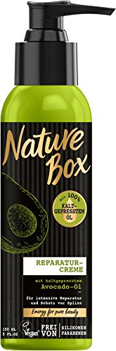Nature Box Reparatur-Creme Avocado-Öl, 3er Pack (3 x 150 ml)