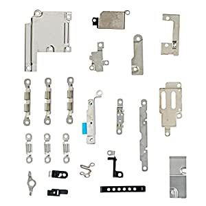 YVBOX iPhone 6 Plus : Original New Inner Fasten Pieces for i6 Plus 5. 5'' Internal Fastening & Brackets Plate Kit Set Small Replacement Repair Parts