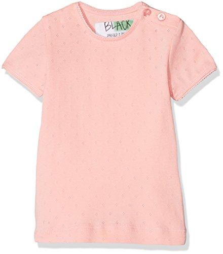 Phister & Philina Black Mädchen Irina Pointelle Organic T-Shirt, Rosa (Peach Skin PEA), 86 Baby-pointelle