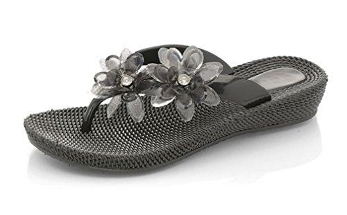 Ubershoes, Sandali donna Vestibilità standard Black